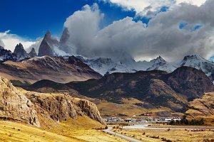 Town Chalten, Argentina