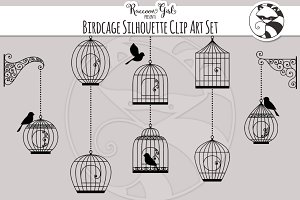 Birdcage Silhouettes