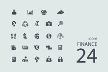 24 Finance icons