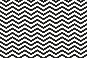 Zigzag pattern with black lines