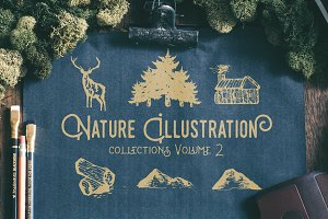 Nature Illustration Collections V2!