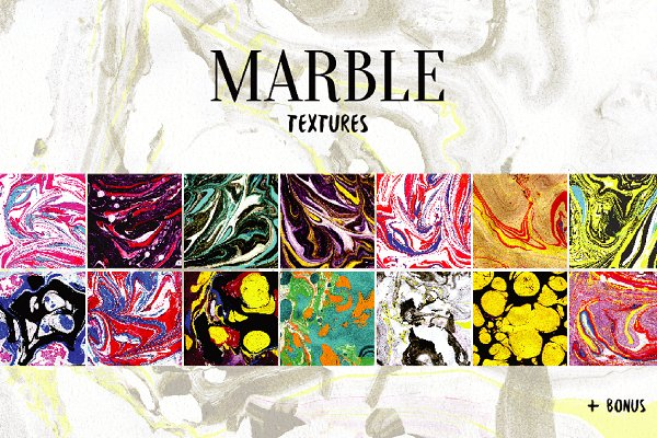 Magic Marble Textures pack