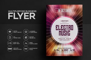 Electro Music Flyer 04