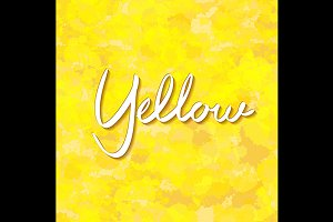 seamless background yellow vector