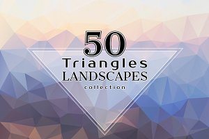 Triangles LANDSCAPES Collection