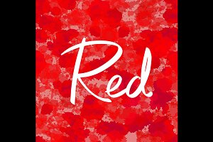 seamless red Abstract colorful