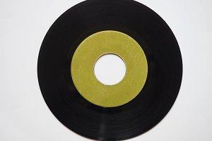 Vinyl record 45 rpm