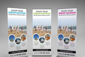 Dream Vacation Roll-up Banner