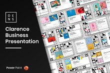 Clarence – Pattern Powerpoint by  in Presentations