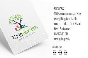 Kids Garden Logo