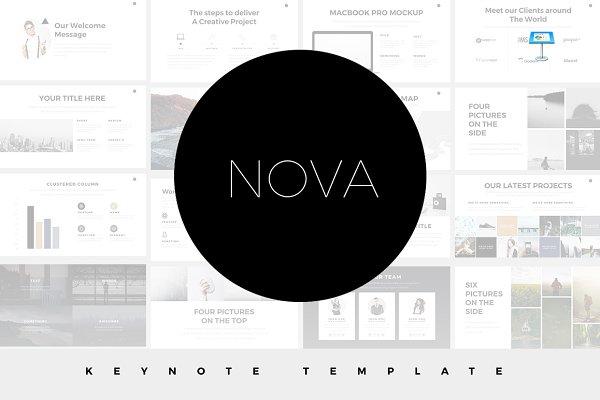 Nova Minimal Keynote Template