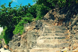 Stairs in the Rock