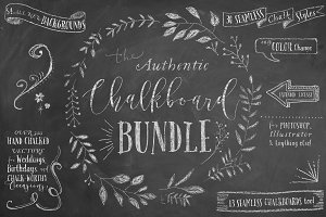 The Authentic Chalkboard Bundle