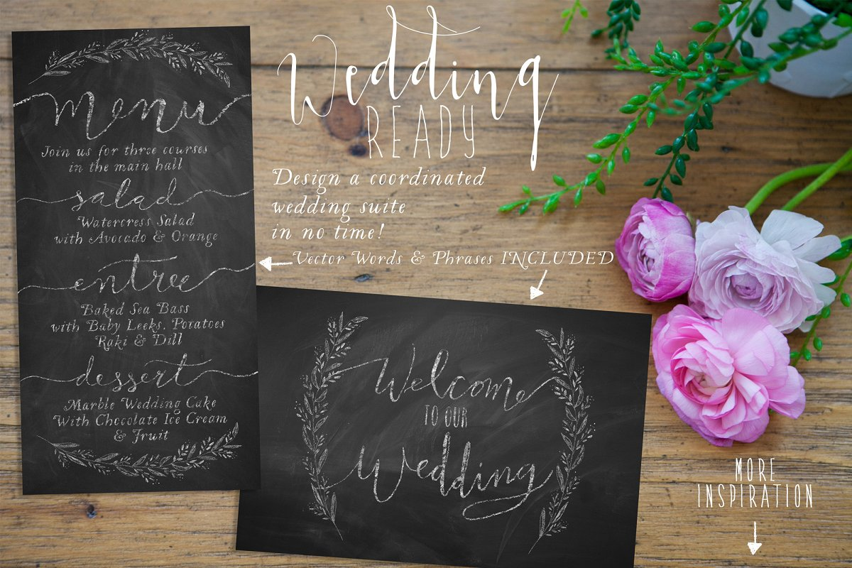 255becc661bb The Authentic Chalkboard Bundle ~ Illustrator Add-Ons ~ Creative Market