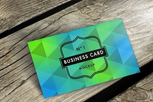 (SALE) Business Card Mockup  Nº1