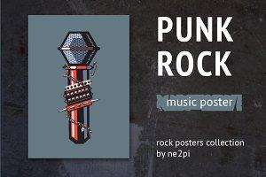 Punk Rock Poster