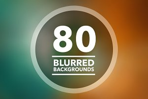 (SALE) 80 Blurred Backgrounds