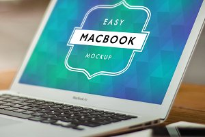 Mockup Macbook Air 1