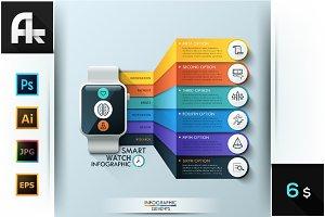 Smart Watch Infographic Design