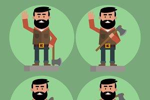 lumberjack avatars