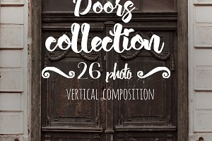 Pack includes 26 photos with doors