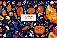 Autumn collection by  in Graphics