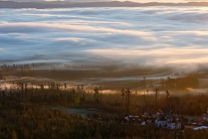 Morning valley.