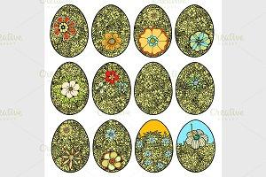 Doodle Easter Egg