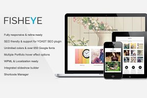 Fisheye | Multi-Purpose Theme
