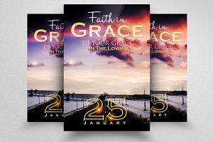 Grace Church Flyer Template