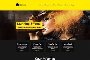 Planco - Creative Portfolio Theme