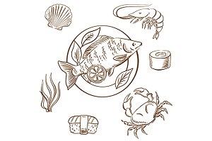 Seafood delicatessen