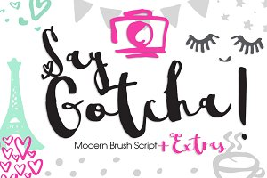 Say Gotcha!+Extras 50%OFF