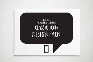The Essential Icon Design Pack