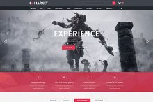 CGMarket Responsive OpenCart Theme by Giao Trinh in OpenCart