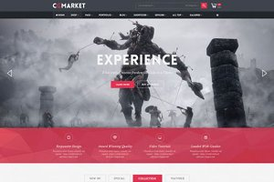 CGMarket Responsive OpenCart Theme