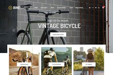 Bike Store Responsive OpenCart Theme by  in OpenCart