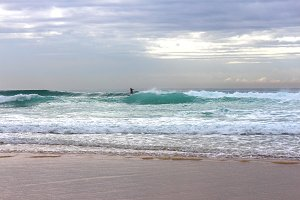 Surfer at Surfers paradise