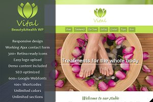 Vital - Beauty & Spa WordPress Theme