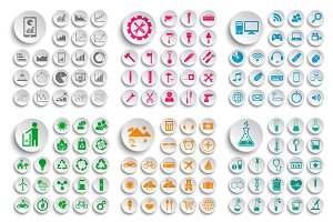Set of Icons Bundle