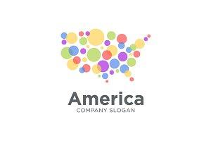 America Media Agency Logo