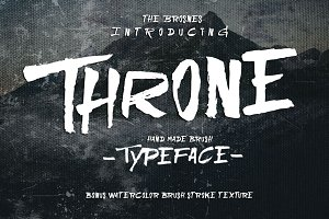 THRONE Typeface