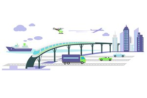 Development of  Infrastructure
