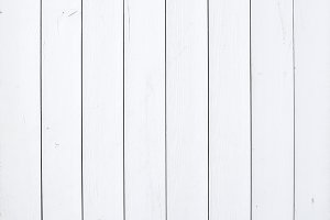 Old rustic white wooden texture