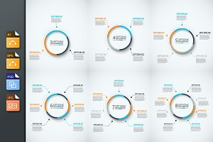 Infographics template set v.24