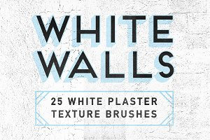 WhiteWalls — 25 Plaster Brushes