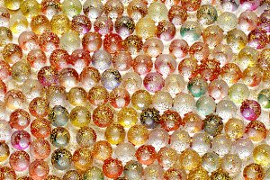 background of colorful shiny balls