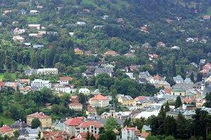 Panorama of Banska Stiavnica