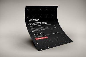 A4 Creative Flyer Mock-Up 10