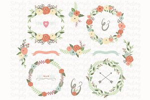 Flower Wedding Wreath Collections